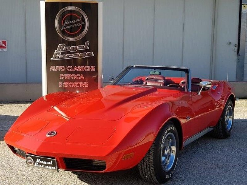 CHEVROLET CORVETTE C3 STINGRAY CONVERTIBILE MANUALE 4M. -ASI-