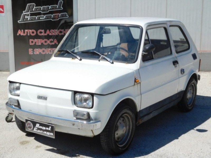 Fiat 126 1 serie uniproprietario royal garage for Garage royal auto