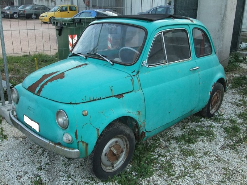 Fiat 500 f da restauro royal garage for Garage da 500 piedi quadrati