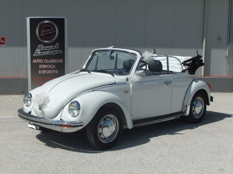 VW MAGGIOLONE 1.600 CABRIOLET-ASI TARGA ORO-