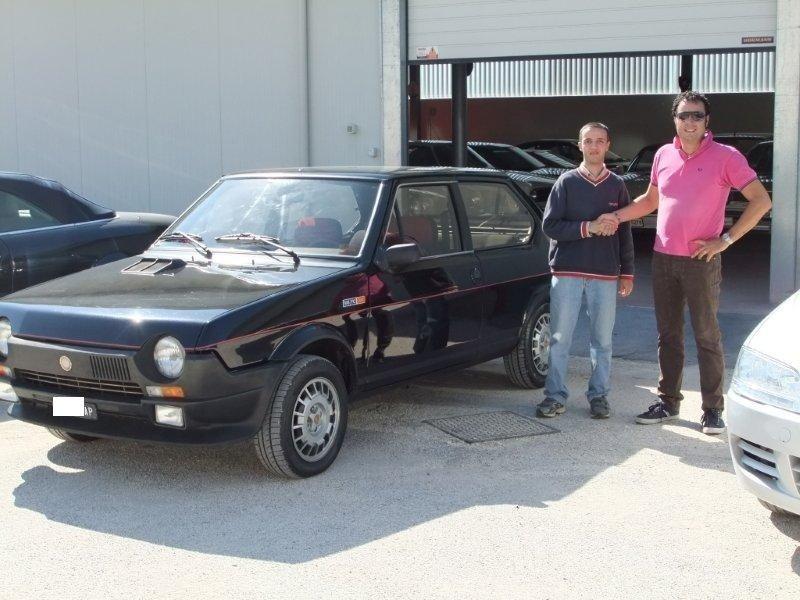 FIAT RITMO 105TC ABARTH-ASI TARGA ORO-