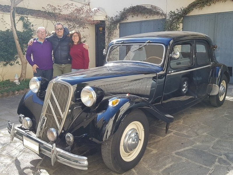 CITROEN TRACTION AVANT 15 SIX D-6 CILINDRI-ASI-