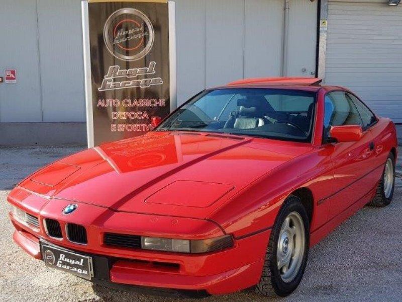 BMW 850I E31- CAMBIO MANUALE - ASI+CRS- SERVICE BOOK -