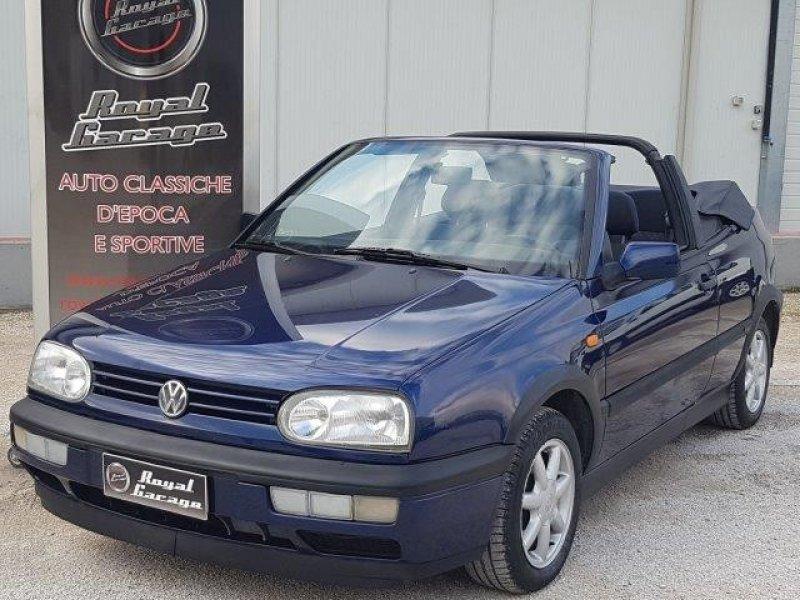 VW GOLF MK3 1.8i KARMANN  CABRIO AUTOMATICO -UNI PRO-