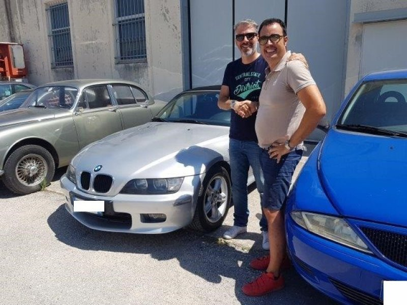 BMW Z3 2.0i 24V ROADSTER -CAPOTE ELETTRICA - CLIMA- 6CILINDRI -