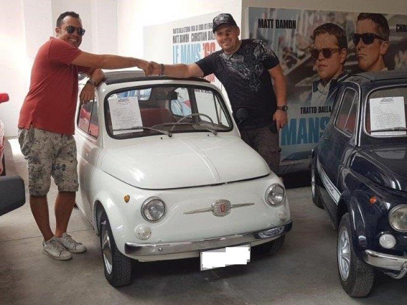 FIAT 500F-UNIPROPRIETARIO-ASI TARGA ORO-