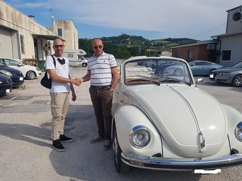 VW MAGGIOLONE CABRIO 1.2 KARMANN  - SERVICE BOOK -ASI -