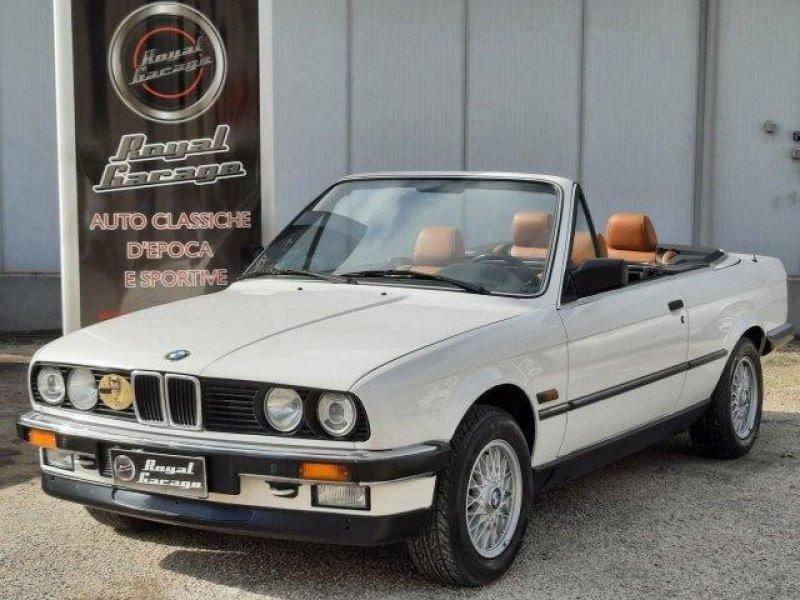 BMW 320i E30 CABRIO -HARD TOP- SERVICE BOOK - ASI TARGA ORO-