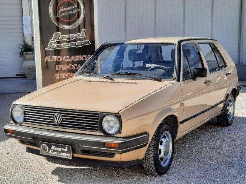 VW GOLF II S° MK2 GL 1.1 5 P-DA CONCORSO-