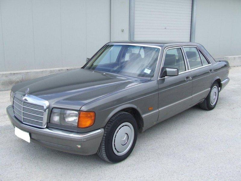 MERCEDES-BENZ 300 SE  W126 berlina-asi-DA CONCORSO