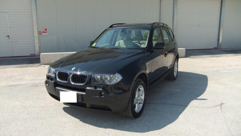 BMW X3 2.0d-NAVI\PELLE\TETTO\XENON